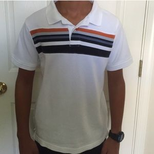 Boys White Polo